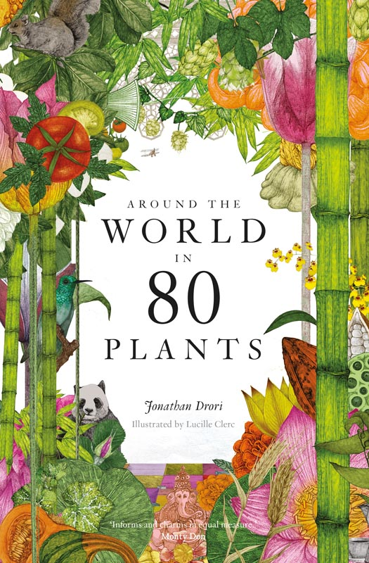 Around the World in 80 Plants book